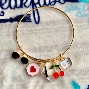 Jewelry - 🖤 Adjustable Women's Charm Bracelet 🖤